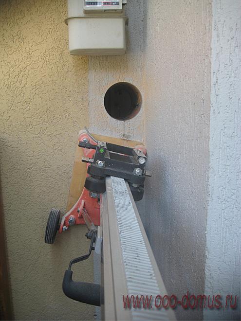 установка КИВ-125 в котельной
