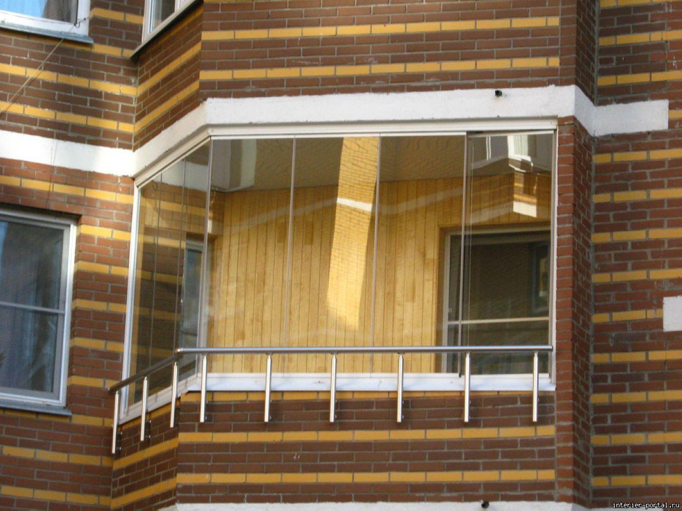 Остекление балконов п-44т холодным способом: плюсы и недоста.