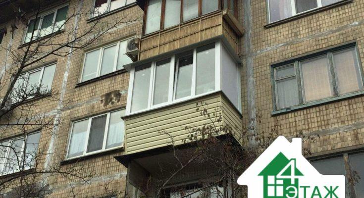 Наружная отделка балкона сайдингом - расчет, фото, заказ - р.