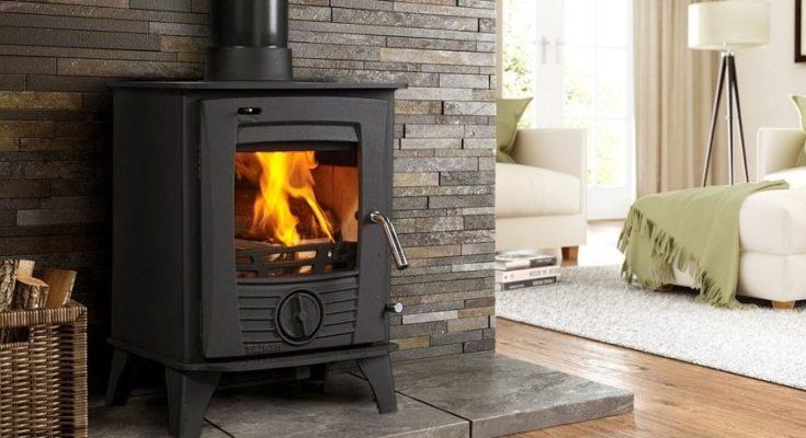 Печь-камин для отопления дома